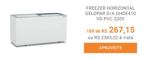 FREEZER-HORIZONTAL-GELOPAR-D-A-GHDE410-VD-PVC-220V