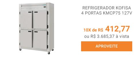 REFRIGERADOR-KOFISA-4-PORTAS-KMCP75-127V